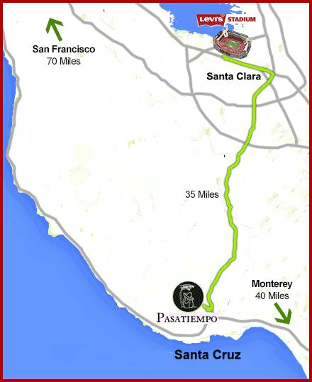Levis stadium map